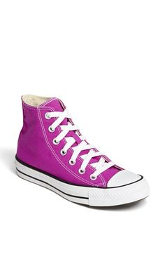 Converse Chuck Taylor® All Star® High Top Sneaker in Fuschia (Women) | Nordstrom