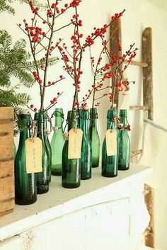 chic holiday decorating