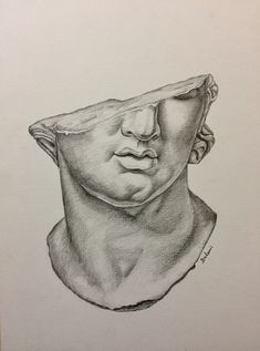 Discover recipes, home ideas, style inspiration and other ideas to try. Creepy Drawings, Pencil Art Drawings, Art Drawings Sketches, Roman Drawings, Arte Indie, Arte Sketchbook, A Level Art, Art Hoe, Renaissance Art