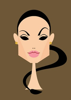 Angelina Jolie by Stan Chow, via Flickr