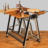 WALKO-Supreme. A workbench with endless configurations, including being able to fold flat.