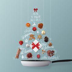 Christmas Flatlay, Christmas Ad, Merry Christmas And Happy New Year, Christmas Design, Christmas Themes, Creative Advertising, Advertising Design, Christmas Campaign, Alternative Christmas Tree