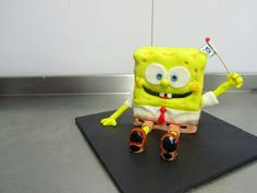 Spongebob squerepants topper, paavo pesusieni