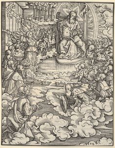 The Lord on the Throne Surrounded by Four Evangelists, from The Apocalypse : Free Download & Streaming : Internet Archive