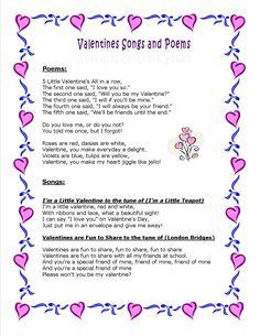 Valentine Poems and Songs Valentines Day Songs, Valentine Music, Valentine Theme, Valentine Crafts For Kids, Valentines Day Activities, Songs For Toddlers, Kids Songs, Preschool Poems, Saints