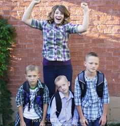 FIRST DAY OF SCHOOL...This makes me laugh!