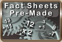 A great site to generate all kinds of Free Math Fact Sheets...can resuffle as well so each page looks different