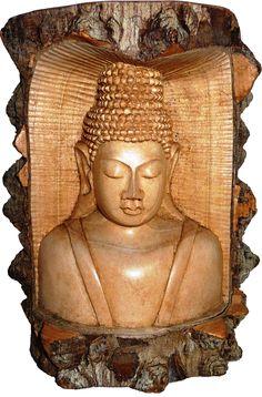 Buda Siddharta en Madera