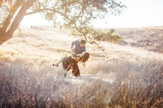 Engagement Photography session in Malibu Creek State Park by Kelli Bee Photography. | #EngagementPhotography #MalibuWeddingPhotographers #SoCalWeddingPhotographers #LAWeddingPhotographers
