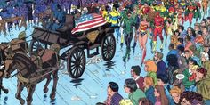 Superman Death Funeral Scene Batman V Superman Ending Explained
