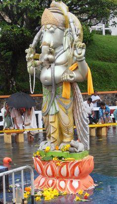 Sacred lake Mauritius, Garden Sculpture, Outdoor Decor, Mauritius Island