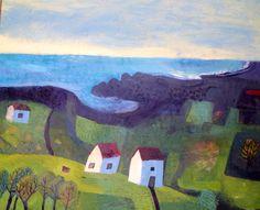 Este MacLeod landscape: sunrise over the valley.