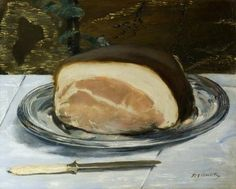 Edouard Manet, The Ham, 1875-78, Glasgow Museums, The Burrill Collection