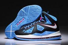 Blue Nike James 10 Women Shoes