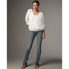 pack: long sleeve white blouse