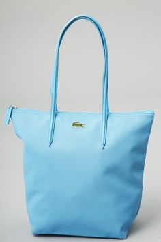 381f76a8b  Lacoste  skyblue tote bag Big Bags