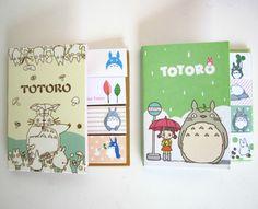 My Neighour Totoro Foldaway Remove Sticky Notes Ghibli Studio Memopad Anime Gift