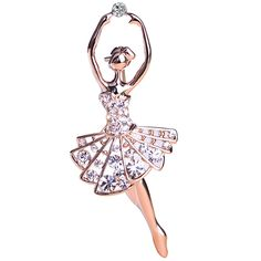 Ballet Dancer Ballerinas Brooches Women Girls Cachecol Hijab Pin Up Clips Scarf Hats Shoulder Corsages Bouquet Joias Ouro Bijoux //Price: $8.99 & FREE Shipping //     #hashtag2