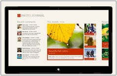 Design case study: iPad to Windows 8 Metro style app Design Case, Ui Design, Graphic Design, Interface Design, User Interface, Metro Style, Design Language, Photo Journal, Web Design Inspiration