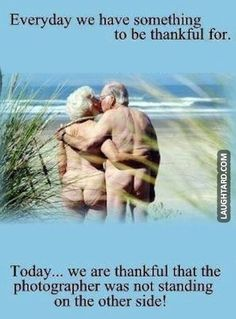 Everyday there is something to be thankful for