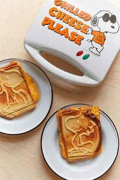Snoopy Grilled Cheese Maker