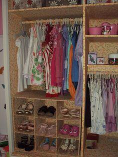 dress up closet guarda roupa sem porta forrado com tecido