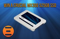 Win A Crucial MX300 525GB SSD With Crucial & Play3r