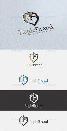 Eagle Brand Logo Template Vector EPS, AI Illustrator, CorelDRAW CDR. Download here: http://graphicriver.net/item/eagle-brand-logo/15926446?ref=ksioks
