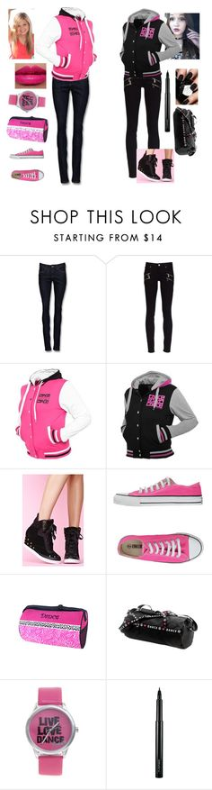 """""""Art Academy outfits!"""" by notusing1204 ❤ liked on Polyvore featuring Mexx, Paige Denim, Ethletic, Capezio, Pineapple, MAC Cosmetics, kelli berglund and olivia holt"""