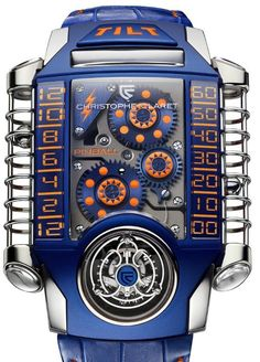 Christophe Claret, X-Trem-1 Pinball Watch -  Only one in the world. Sold for € 100.000,000.00.