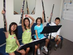 Raise your clarinet if you love clarinet class!