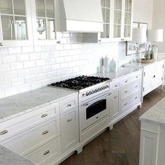 White Kitchen, Cottage, kitchen, Veranda House