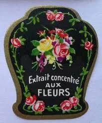Image result for  vintage labels perfume