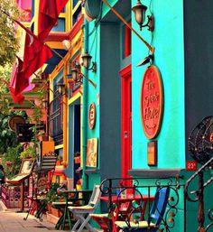 Coisas de Terê→ As cores em Kybele Hotel, Istanbul -Turkey.