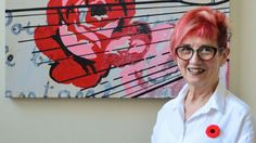 #Guelph artist Lyn Westfall commemorates her father whom she lost in the Second World War