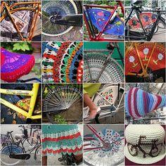 crochet bike fashion