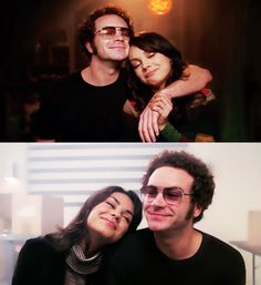 Jackie + Hyde, That 70's Show... Because he only smiles like that for her... Or when someone gets hurt. Lol