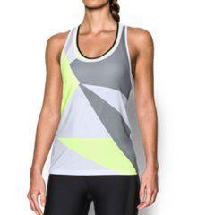 Women s UA Geo Run Tank Camisetas Sin Mangas Sueltas 1b06c8fa0a4d