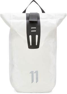 11 by Boris Bidjan Saberi White Velocity Backpack