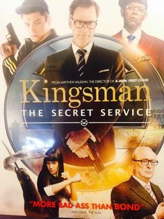 Bookmans Recommends Collin Firth in Kingsmen B*