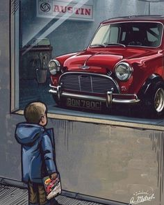 The Classic Mini Has Been Remastered With New Engines And Tech - Mini Owners Club Mini Cooper S, Rover Mini Cooper, Mini Cooper Classic, Classic Mini, Classic Cars, Aston Martin, My Dream Car, Dream Cars, Dodge