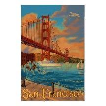 Puente Golden Gate - San Francisco, poster de CA