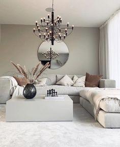 soffa Stradford i sammetstyg exklusivt - Lilly is Love Front Room Decor, Living Room Decor Cozy, My Living Room, Living Room Interior, Home Interior Design, Interior Paint, Dining Room Inspiration, Home Decor Inspiration, Home Decor Kitchen