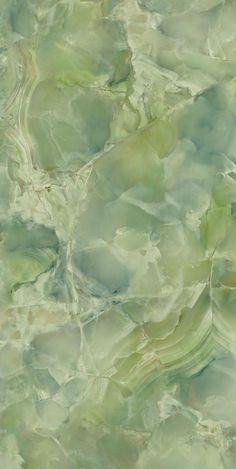 FIANDRE - Porcelain Tile: Green marble: Precious stones