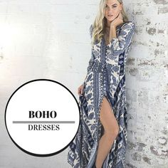 The must have look of the season #boho #dresses  The Boho Dresses look is gorgeous.