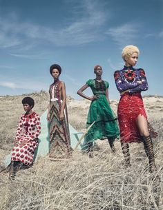 Image result for Photographer Emma Summerton and stylist Edward Enninful showcase how to wear the best of the fall 2015 collections.