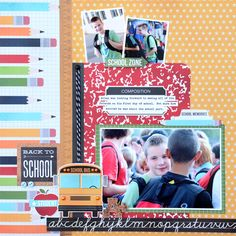 Back to School- Simple Stories Smarty Pants - Scrapbook.com