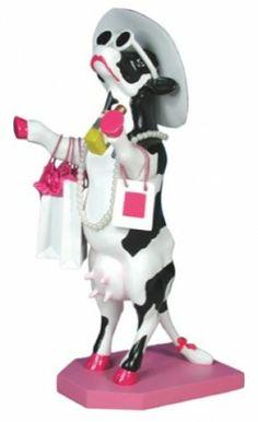 Cow Parade Alphadite Goddess of Shopping Figurine 47721