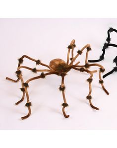 $7.50 50 inch Brown & Tan Spider