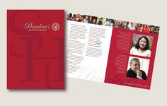Brochure for the President's Leadership Society for Sacred Heart University